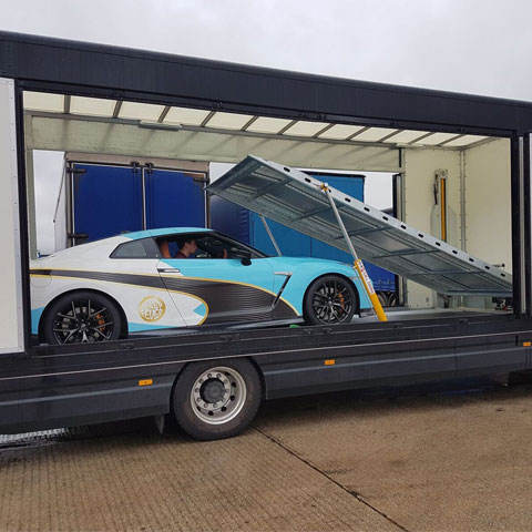 Covered Car Transport Buckinghamshire